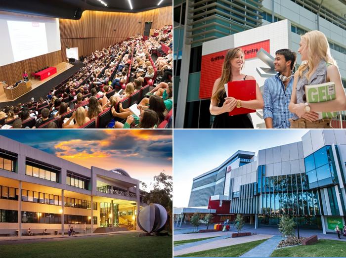 호주 그리피스 대학교 이미지