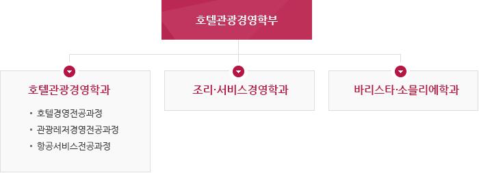 호텔관광경영학부 소개표