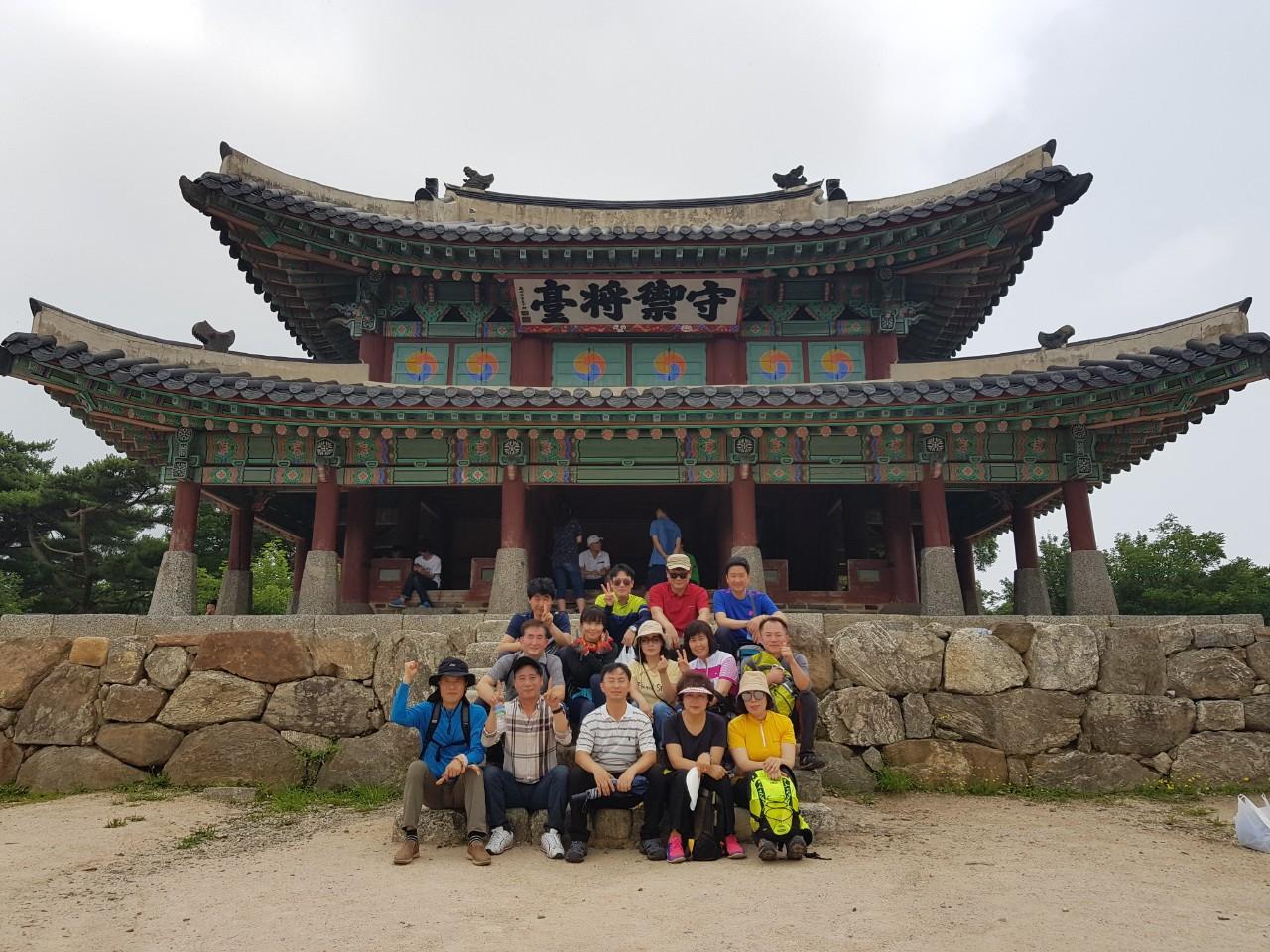 남한산성등산(16학번)과 학부동문모임
